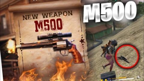 Só M500, desafio insano no Free Fire!!