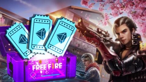 Veja como pegar 10 tickets de Diamante grátis – Free Fire