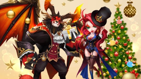 Feliz Natal com Summoners War!