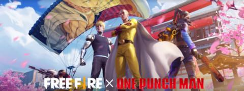 Free Fire e One Punch Man: Evento especial em 2021!
